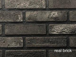 REAL BRICK. Кирпич ручной формовки RB КР/1ПФ RB 08 седой граф