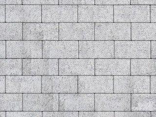 """Тротуарная плитка А.1.П.4,Б.1.П.6,В.1.П.8 """"Прямоугольник"""" Белый 100х200х60 Бассировка"""