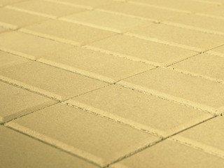 Тротуарная плитка BRAER Прямоугольник Песочный, 60 мм