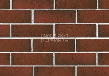 Клинкер фасадный ЛСР Возрождение «Ричмонд» красный флэш винтаж 2