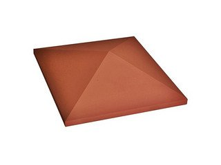 Керамическая крышка Roben 320х320 красный