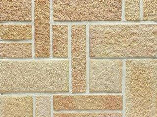 Клинкерная плитка фасадная Шамот Хаос разноцвет прямая Терракот Рядовая x толщина