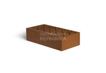 Кирпич лицевой керамический ЛСР Коричневый гладкий, 1НФ 3