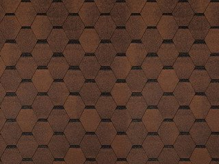 Tegola (TOP SHINGLE) СМАЛЬТО коричневый