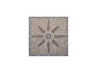 Мозаика клинкерная (на сетке) Ecoclinker Star/Звезда (1х1м)