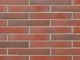 Клинкерная плитка фасадная Röben CANBERRA 17 Красный с оттенком гладкая, ХLDF