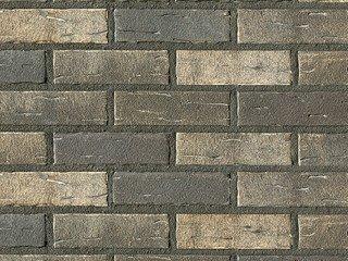 Клинкерная плитка фасадная Röben AARHUS серебряно-черный NF14