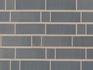 Клинкерная плитка фасадная ABC Klinker Glanzriemhen Tiefschwarz 390
