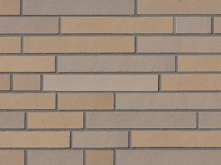Клинкерная плитка фасадная ABC Klinker Elmshornocker grau Langformat