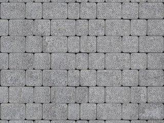 """Тротуарная плитка ТП А.1.Фсм.4, ТП Б.1.Фсм.6 """"Инсбрук Альт"""" Серый Бассировка 60"""
