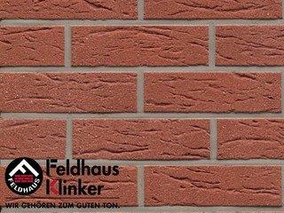 Фасадная плитка Feldhaus Klinker R435NF9 carmesi mana