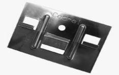 Кляммер + заклепка для кляммера для крепления доски из фиброцемента с пазом 250 шт./кор.