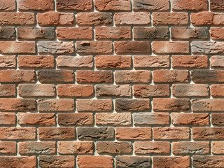 "306-51 White Hills ""Бремен брик"" (Bremen brick), темно-оранжевый, тычки, Нормативная ширина шва 1,2"