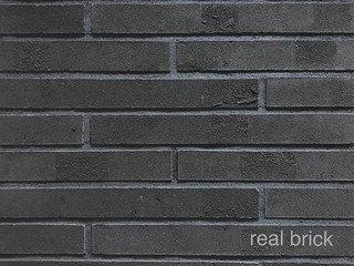 REAL BRICK. Ригельный кирпич RB 7-13 Графитовый Плитка: 440*50*20 0,54(20шт)