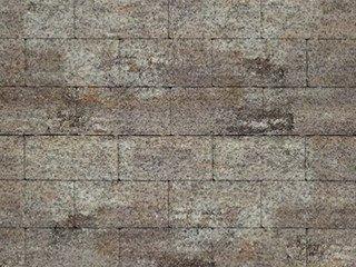 Тротуарная плитка ARTSTEIN Прямоугольник Лайн ColorMix Берилл, 40 мм