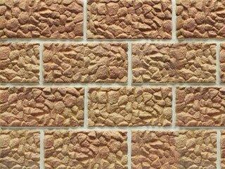 Клинкерная плитка фасадная- Леонардо Макси классик прямая Терракот Рядовая 123x263 толщина
