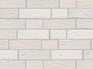 Клинкерная плитка фасадная ABC Klinker Weiss str New NF10