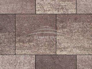 """Тротуарная плитка Выбор """"Искусственный камень"""", КВАДРУМ Плитняк вишневый"""