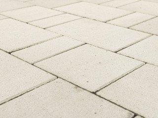 "Тротуарная плитка BRAER Старый город ""Ландхаус"", Белый, 60 мм"