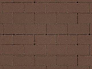 Тротуарная плитка ARTSTEIN Прямоугольник Лайн коричневый, 60 мм