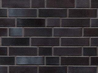 Клинкерный кирпич АВС Hamburg schwarz-blau-bunt glatt, DF