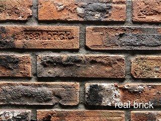 REAL BRICK. RB 6-10 antic глина античная кирпичная Плитка: 250*65*18-22 0,62(32шт)