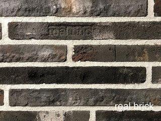 REAL BRICK. RB 7-13 antic глина античная графитовая Плитка: 440*50*20 0,54(20шт)