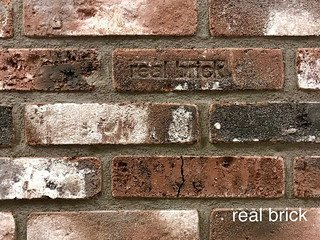REAL BRICK. Кирпич ручной формовки RB КР/0,5ПФ loft RB 04 loft бордовый лофт
