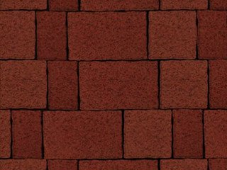 Тротуарная плитка ARTSTEIN Старый Город красный, 60 мм