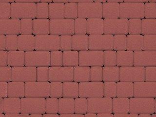 Тротуарная плитка ARTSTEIN Инсбрук Альт красный, 60 мм