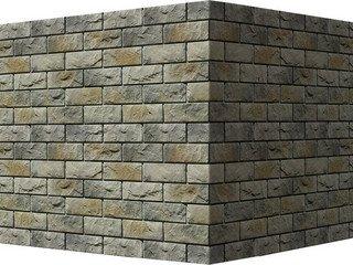 "406-85 White Hills ""Йоркшир"" (Yorkshire), светло-серый, угловой, Нормативная ширина шва 1,5 см."