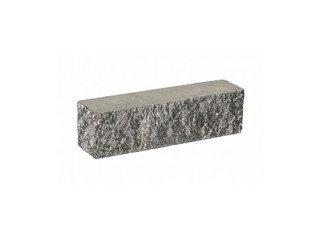 Кирпич облицовочный полнотелый BARRUM Серый, брусок угловой 0,5 НФ