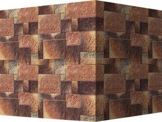 "485-45 White Hills ""Бремар (Braemar), коричневый, угловой, без шва"