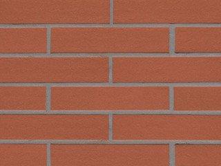 Клинкерная плитка фасадная 215 patrizienrot Stroeher Рядовая 71x240 толщина 11