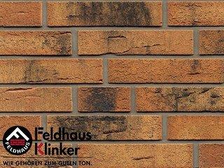 Фасадная плитка Feldhaus Klinker R286DF9 Nolani угольный нагар