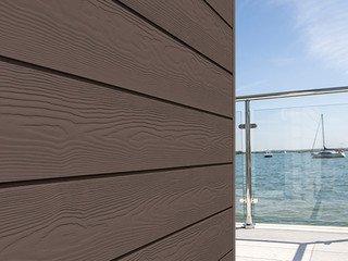 Доска Cedral Click Wood 3600 mm C21 Коричневая глина