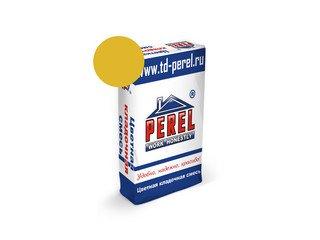 Цветная кладочная смесь Perel VL 0235 желтый, 25 кг