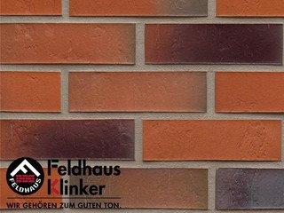 Плитка под кирпич Feldhaus Klinker R715NF14* accudo terreno bluastro