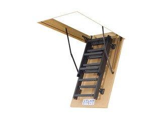 Лестница складная металлическая LMS Fakro Металл 70х1200/2800