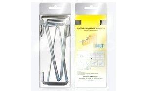 Кирпичные перемычки BAUT Блистер-Комплект оцинкованных хомутов SK 170 для вертикальной кладки проем
