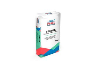 Клеевая смесь Perel Termix-M 0320, 25 кг (усиленная) для наружных и внутренних работ