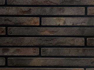 Плитка ручной формовки Real Brick RB 10-09 Черный магнезит