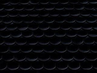 Керамическая черепица Braas Опал Топ-Глазурь черный кристалл