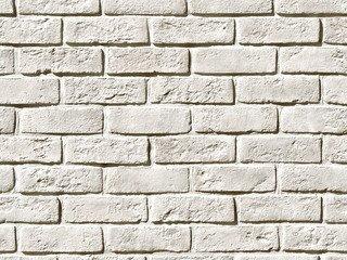 Декоративный камень White Hills «Кельн брик» 320-00, белый (Cologne brick), плоскостной, Нормативная