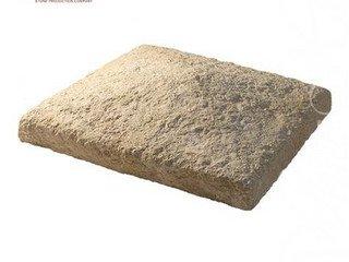 805-40 Накрывочная плита четырехскатная, 23*23*10, коричневый