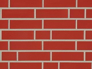 Клинкерная плитка фасадная ABC Klinker Glanzriemhen Rot 330