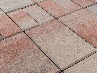 Тротуарная плитка BRAER Мозаика, Color Mix Фламинго