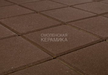 Тротуарная плитка BRAER Лувр, Коричневый 1