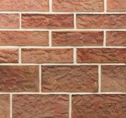 Клинкерная плитка фасадная Майами Макси классик прямая Терракот Рядовая 123x263 толщина