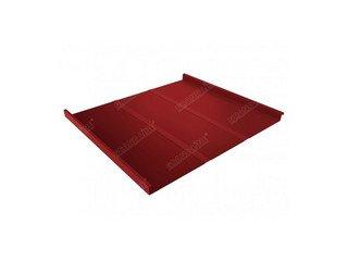 Grand Line Двойной стоячий фальц GL Profi Quarzit 0,5мм матовый красный